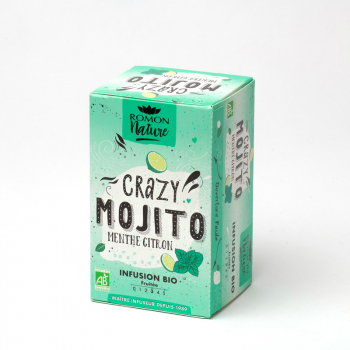 Organic Crazy Mojito Infusion - 16 teabags