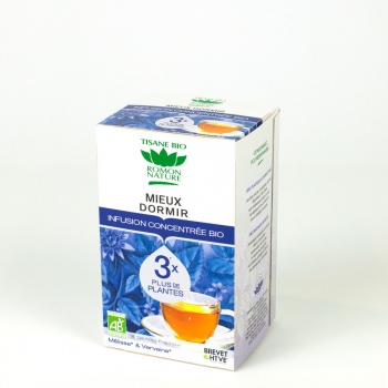 "Concentrated organic herbal tea ""Better sleep"" - 18 teabags"