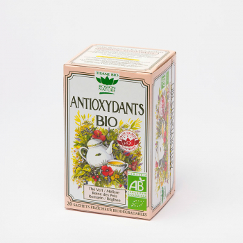 Organic Anti-oxidant Herbal Tea - 20 teabags