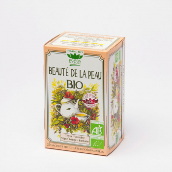 Organic Skin Beauty Herbal Tea - 20 teabags