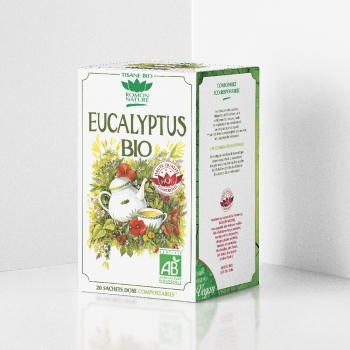 Organic Eucalyptus Herbal Tea - 20 teabags