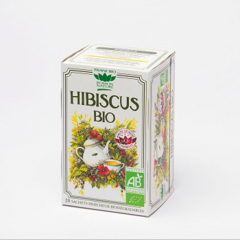 Organic Hibiscus Herbal Tea - 20 teabags