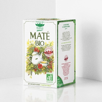 Organic Mate Herbal Tea - 20 teabags